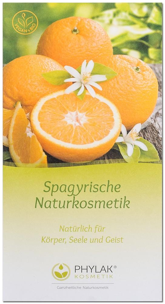 Produktbroschüre Spagyrische Hautcreme 'ORANGE'