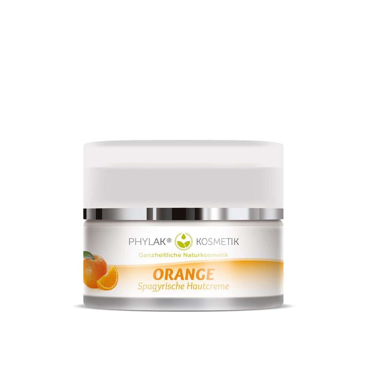 ORANGE - Spagyrische Hautcreme