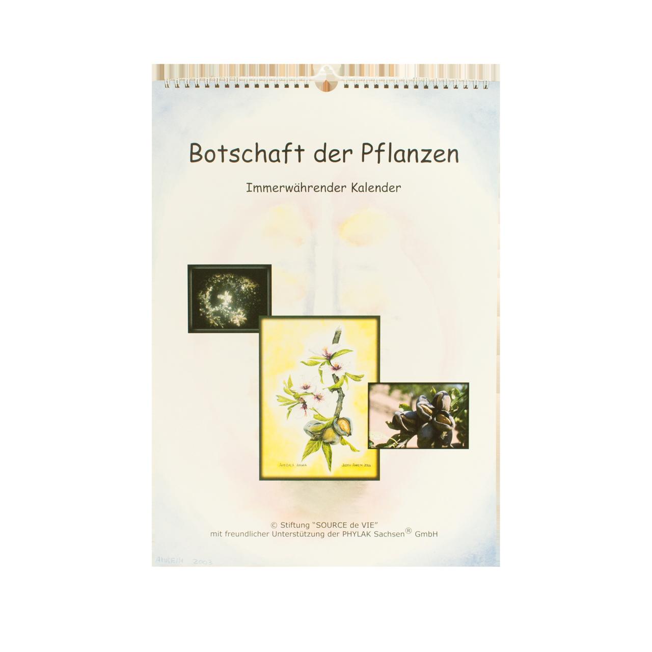 """Kalender """"Botschaft der Pflanzen"""" 1. Auflage"""
