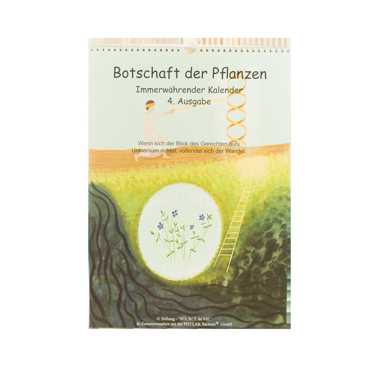 """Kalender """"Botschaft der Pflanzen"""" 4. Auflage"""