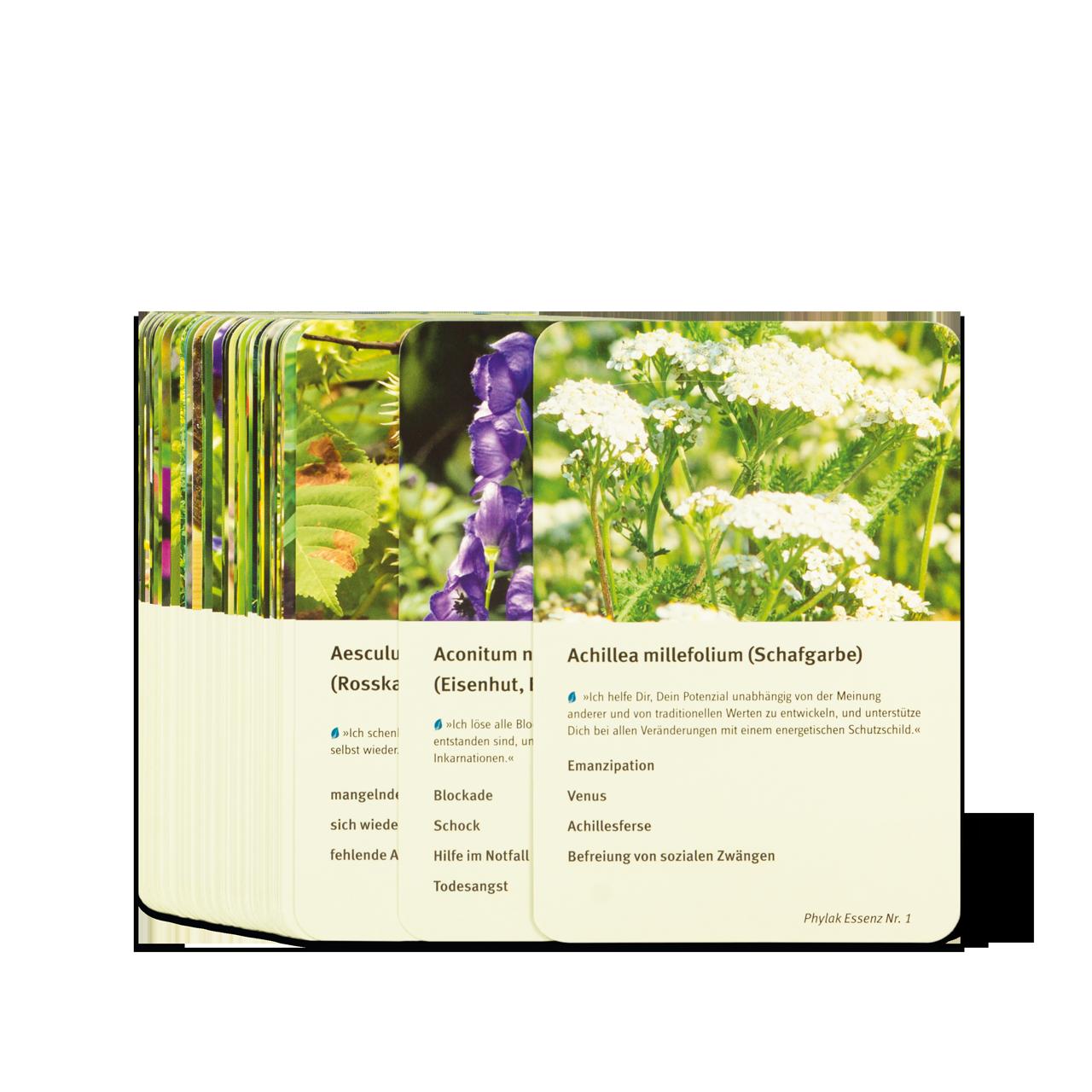 Energetische Spagyrik - Pflanzenkarten