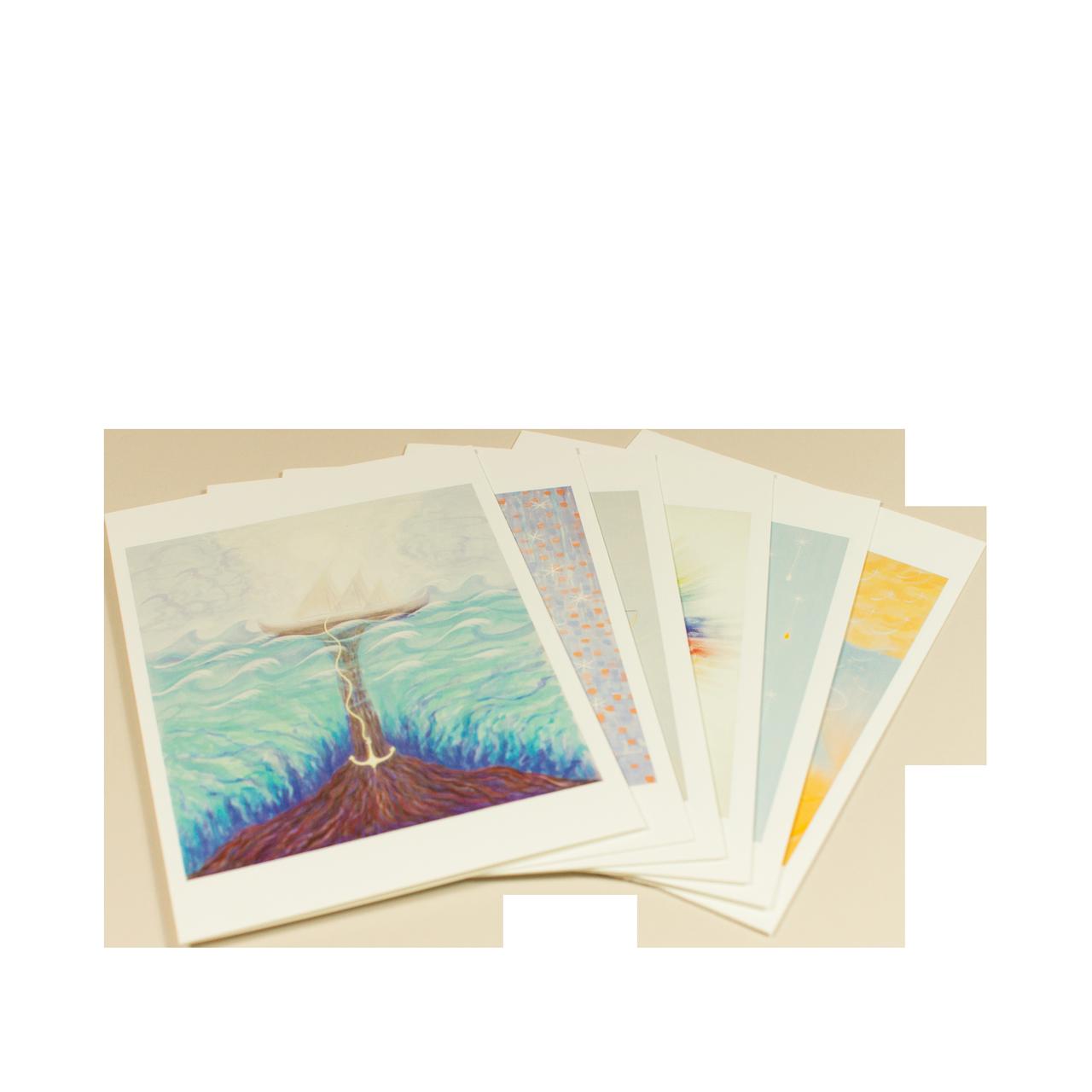 Postkartenset 6er - Variante 1