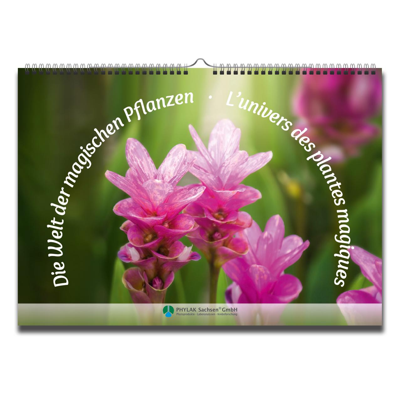"""Kalender """"Die Welt der magischen Pflanzen"""""""