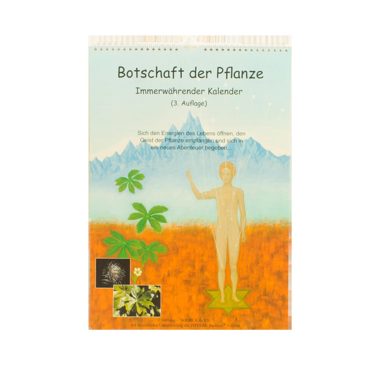 """Kalender """"Botschaft der Pflanzen"""" 3. Auflage"""