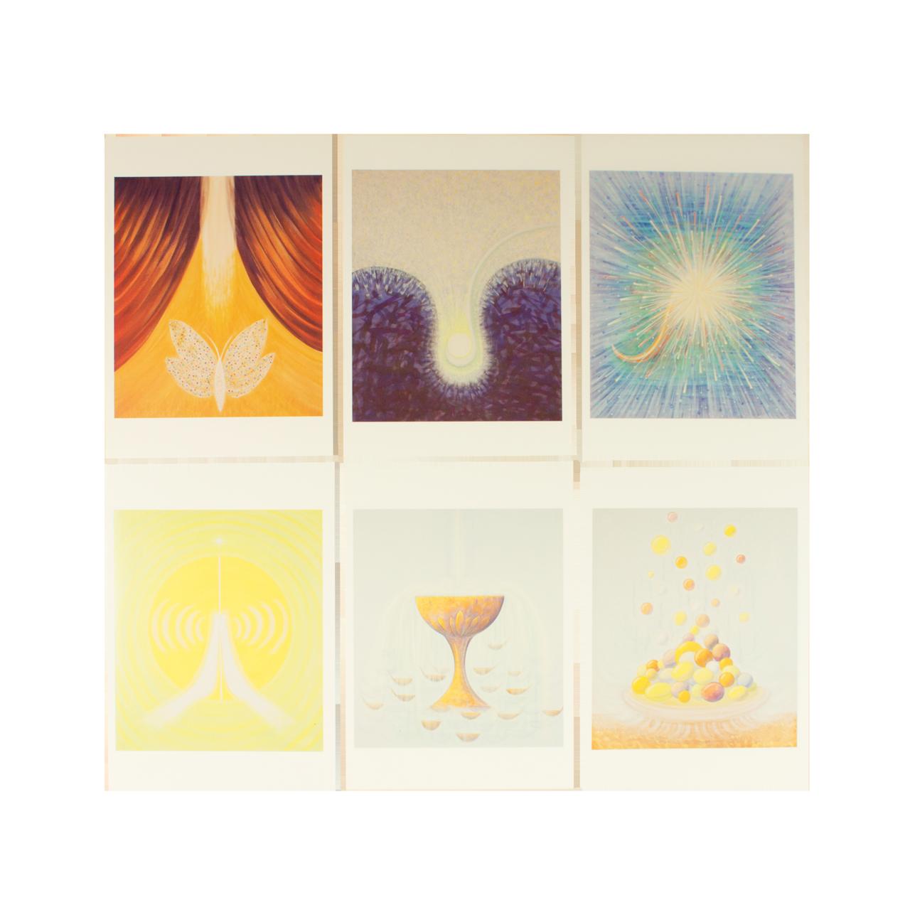 Postkartenset 6er - Variante 2